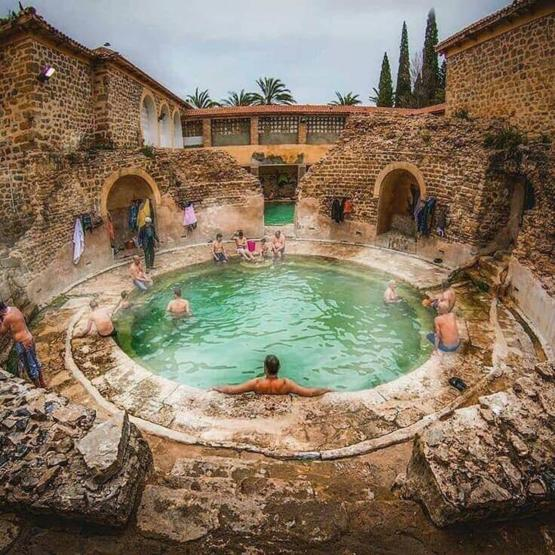 2000 year old Roman bath still in use in Algeria.