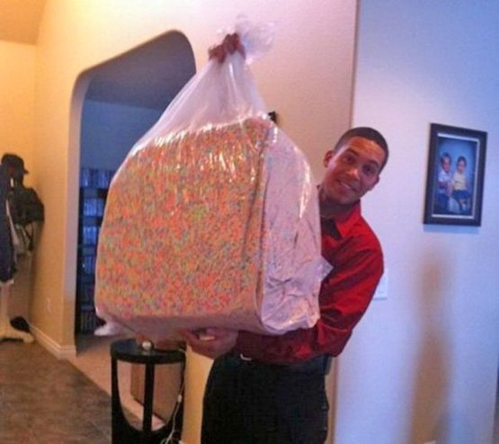 TIL you can order 40 pounds of just Lucky Charms marshmallows on Amazon