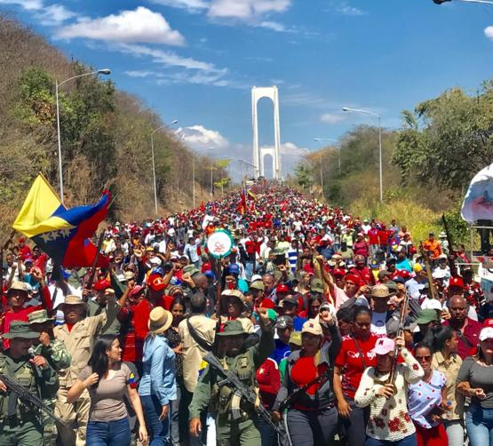 This is Venezuela right now. Hundreds of thousands marching for freedom and the triumph of democracy. Let the world see this!