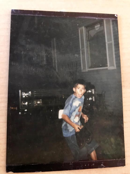 Yes I waited outside with my instant camera, just to scare my son
