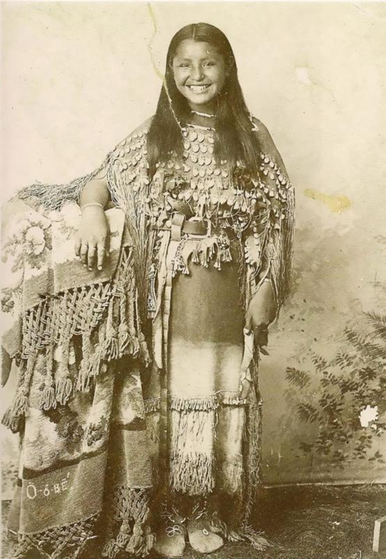 Native American teenager in 1894