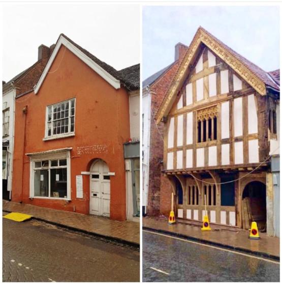 14th century town house restored to it former glory! Droitwich, UK