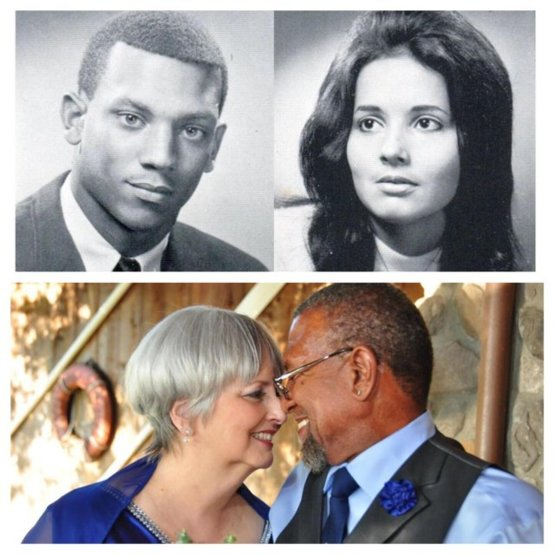 Howard Foster and Myra Clark reconnected and married more than 45 years later after racism forced them apart. They now hold hands while they fall asleep every night.