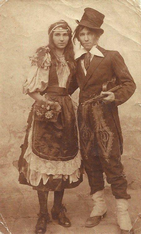 Romani (Gypsy) Couple 1890s