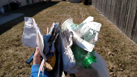 No minimum for #trashtag, I encourage you to take a look around your own immediate area, it adds up!