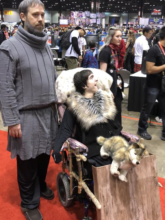 My favorite cosplay from C2E2 that I think everyone should see.