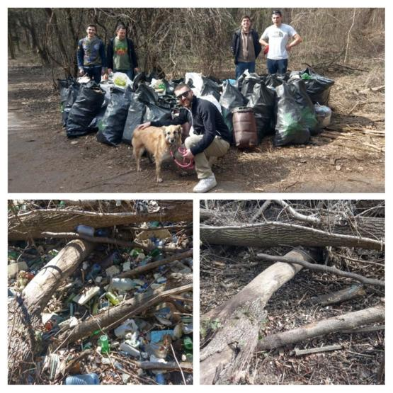 #TrashTag Sofia, Bulgaria . Had a great time and did some good work :)