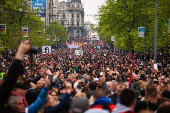 We're in our 4th month of protests in Serbia, but due to censorship the rest of the world isn't hearing about it.