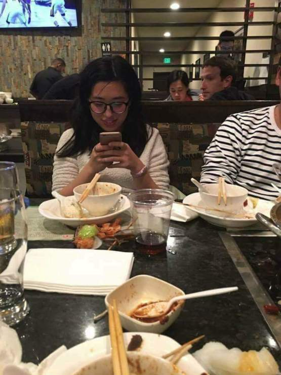 When you're having dinner with your family but you're programmed to spy on people