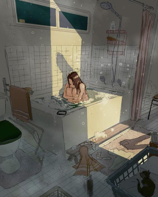 """Some days are just not good"" by pascal campion"