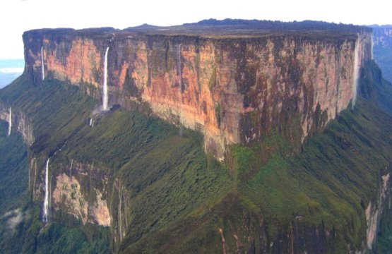 Mt. Roraima, one of the oldest geological locations on earth