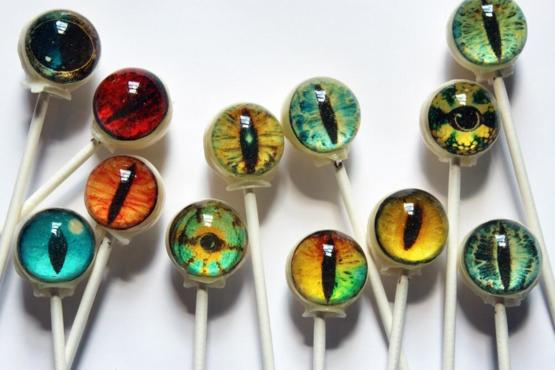 Dragon Eye Lollipops