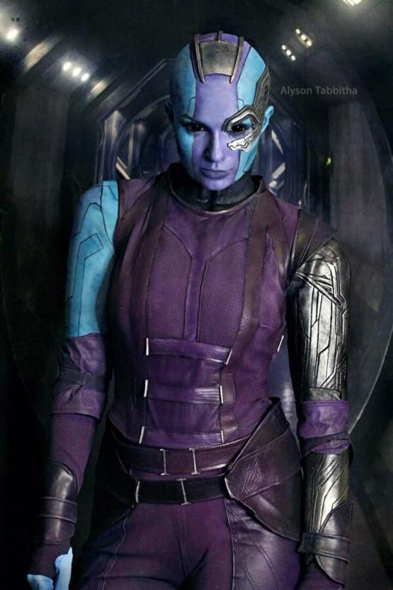 Nebula cosplay by Alyson Tabbitha (Guardians of the Galaxy)