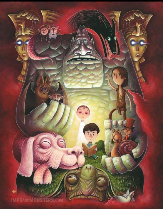 Neverending Story Art by Justin Hillgrove