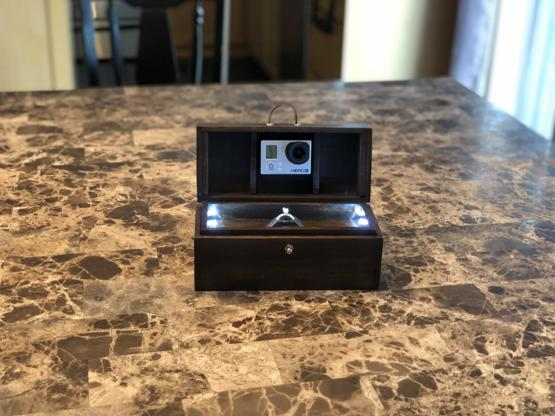 Since we are all sharing engagement ring boxes, here is mine