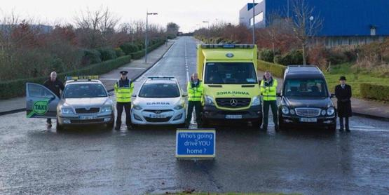 Irish awareness campaign for drink driving