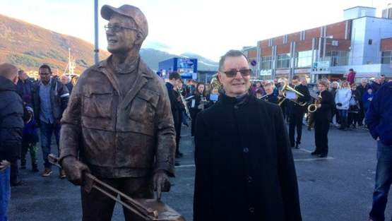 In 2015, our town in Norway erected a statue in honour of its street cleaner who retired after 30 years.