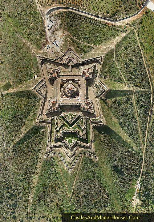Star fort in Portugal