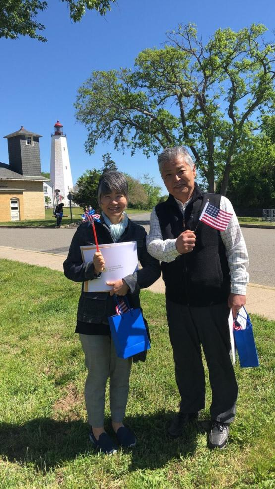 My parents became American citizens after moving here from Japan 40 years ago