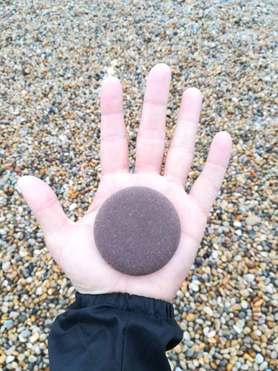 Perfect skipping stone.