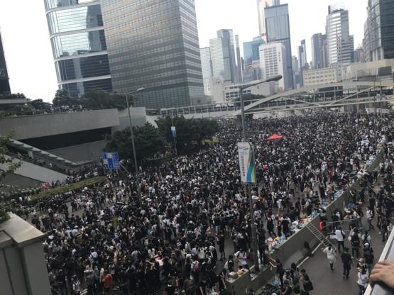 This is Hong Kong. No China Extradition.