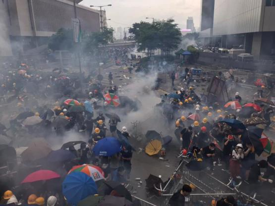 This is HongKong today.