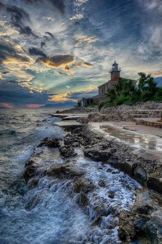A beautiful picture, of my beautiful hometown Makarska, Croatia.