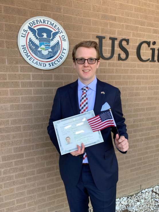 It's been a long journey, but today I finally became a US Citizen!
