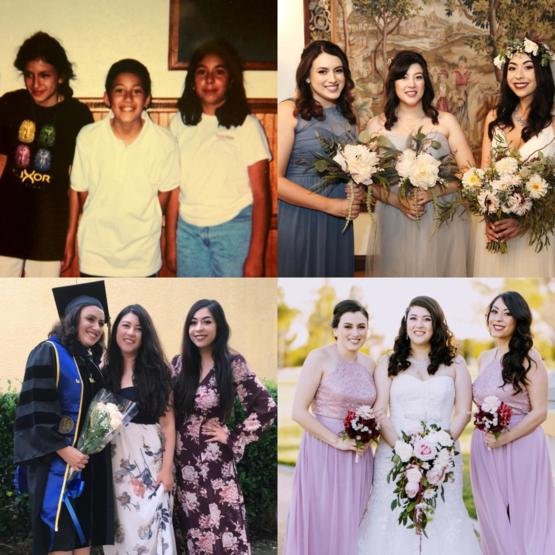 20 years of friendship in these photos. From science camp, to weddings to getting a PhD, I'm very lucky to have them.