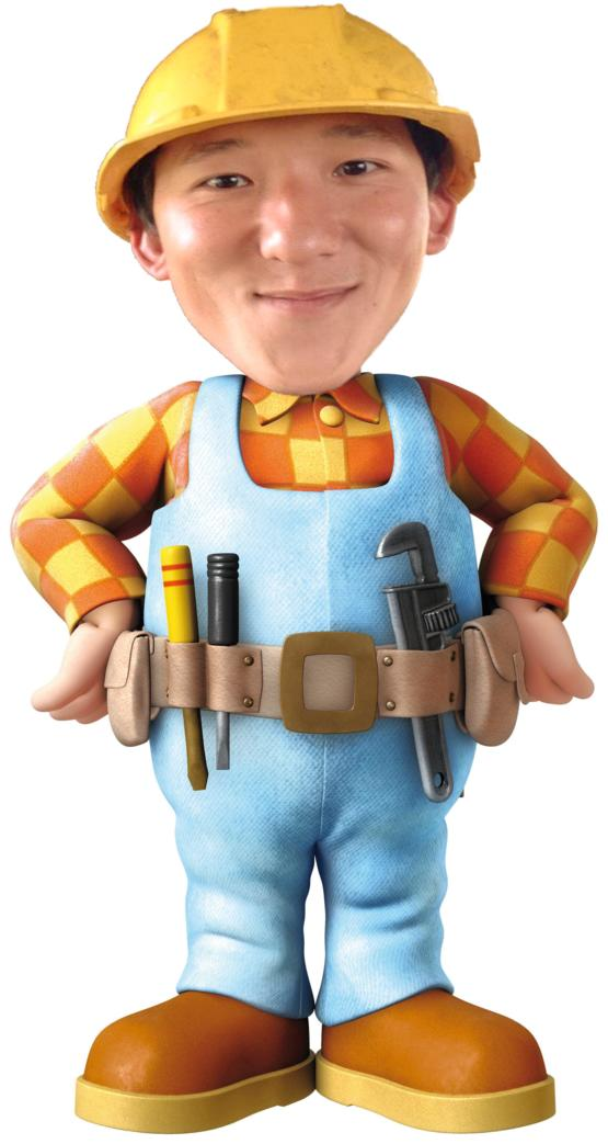 Beauty nude bob the builder