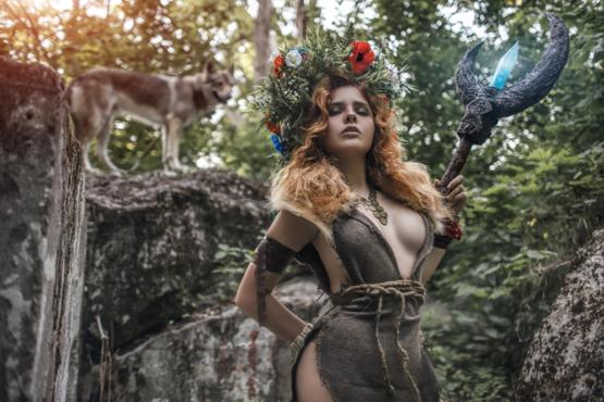 Forest Witch original cosplay by Fenix Fatalist