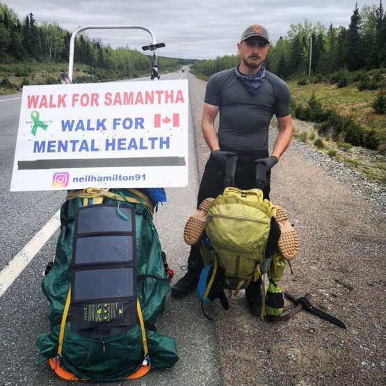 Hitting the 600k mark in my walk across Canada