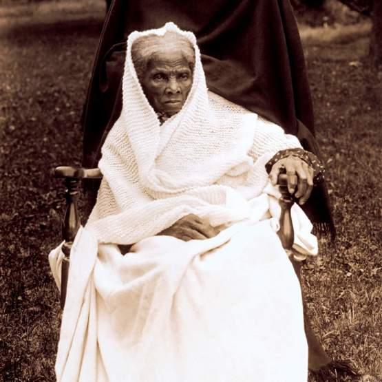 Harriet Tubman - She is a true American hero.