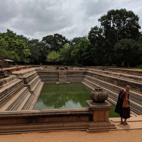 3000 Year old Monk Bathing pools