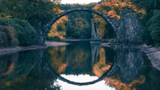 Devil's Bridge (Germany) - The Circle was meant to create some kind of a portal in another world