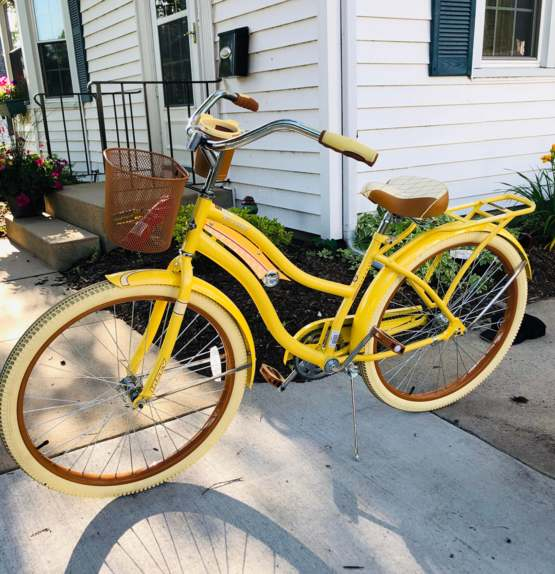 My daughter just got her new bike and she loves the old style. I think it's cool