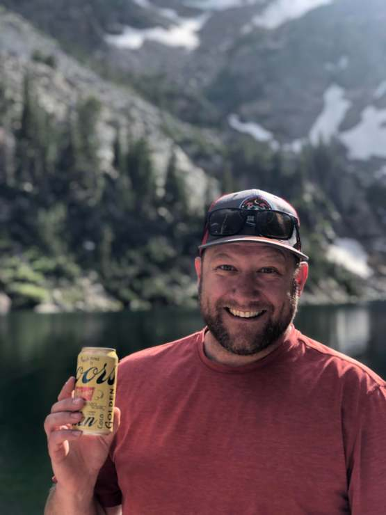 My dad found [and drank] a beer floating in Emerald Lake at Rocky Mountain National Park!
