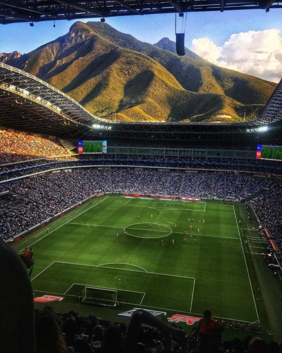 The Monterrey Stadium, Mexico