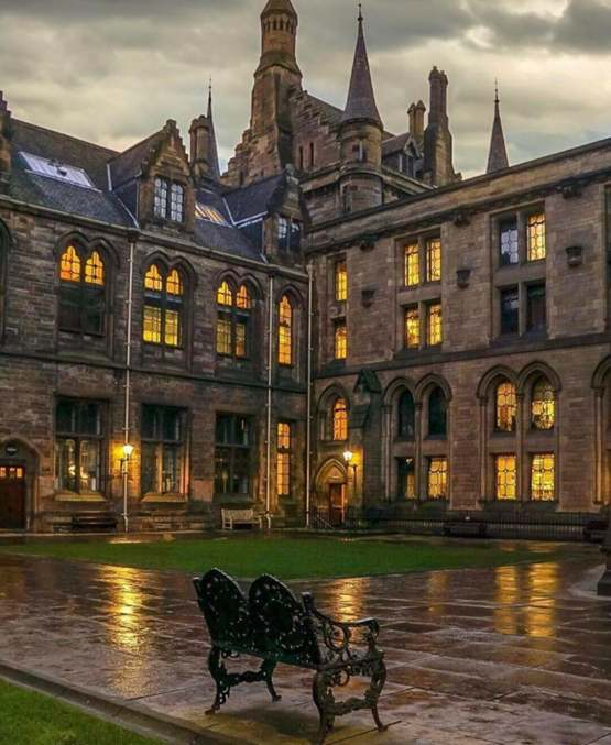 University of Glasgow, Scotland.