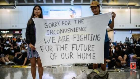 "Hong Kong protesters - ""We are Fighting for the Future of Our Home"""