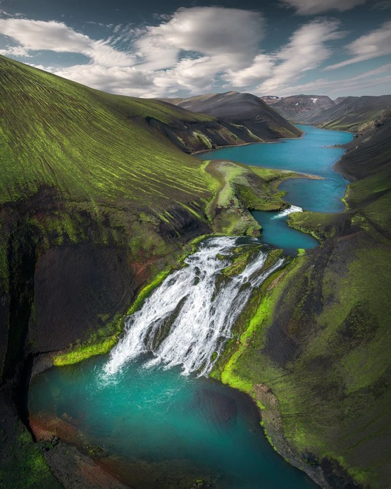 The Icelandic highlands