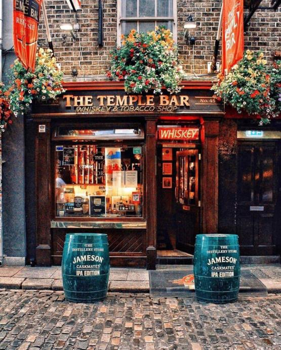 Beautiful little bar in Dublin.