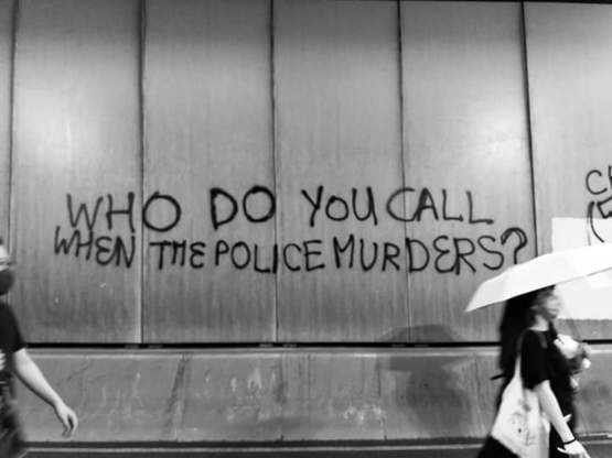 Who do you call when the police murders A chilling thought