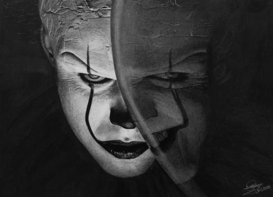 My Drawing of Pennywise