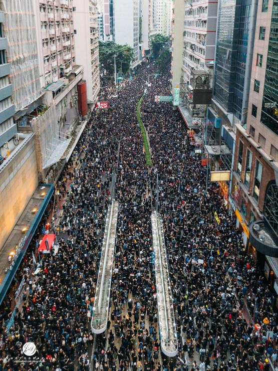 Hongkongers will never surrender