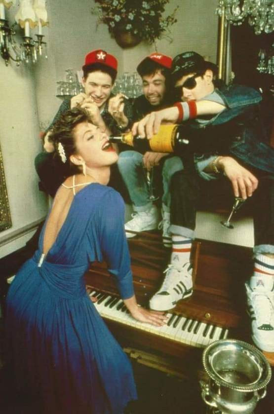 Beastie Boys And Madonna 1985
