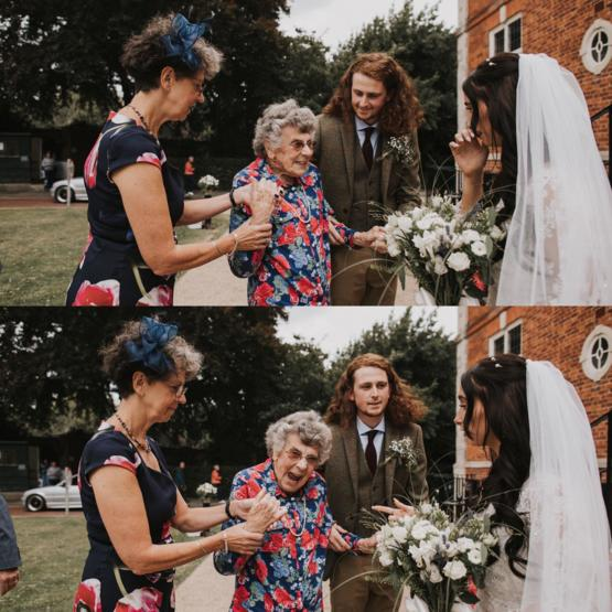 My grandma is 98, she made it to our wedding last week and was extremely happy about it