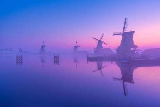 A Calm Morning In The Netherlands