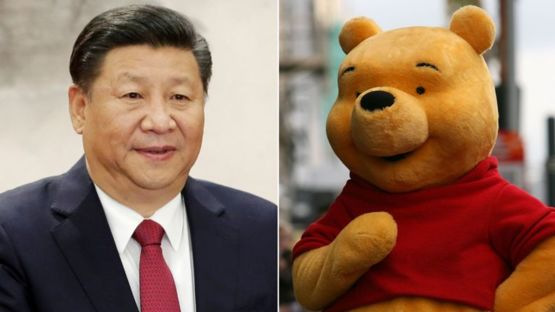 Have you ever noticed Winnie the Pooh looks like Xi Jinping