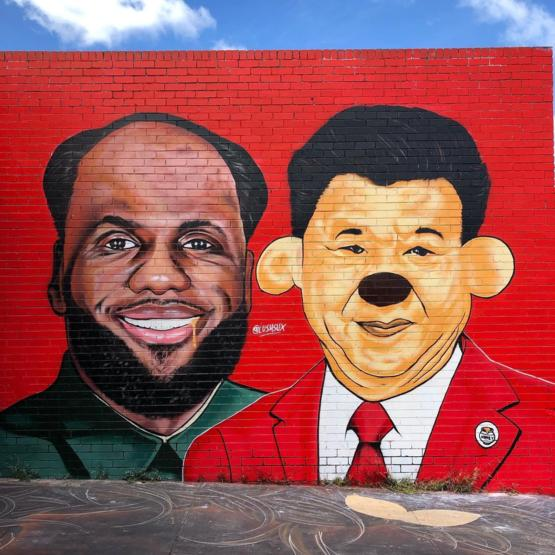 Comrade Lebron, we must secure the bountiful harvest of the honey bee.